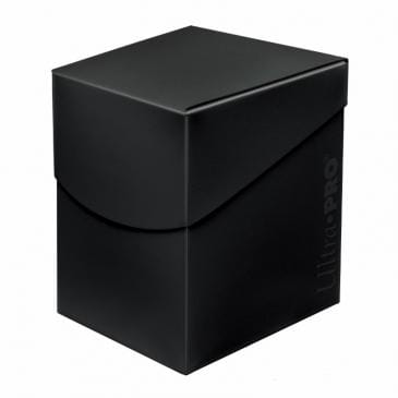 Pudełko na talie (Deck Box) - Eclipse Pro 100+ (Jet Black) (#85683)