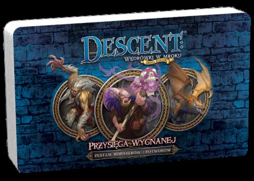 Descent: Wędrówki w Mroku - Przysięga Wygnanej