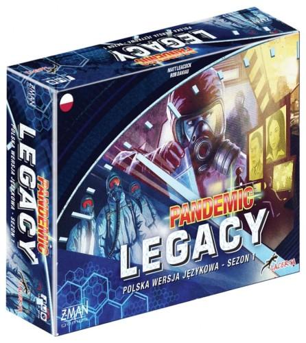 Pandemic Legacy (Pandemia) - Sezon 1 - Edycja niebieska