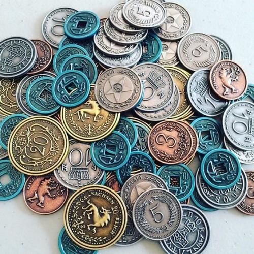 Scythe - metalowe monety