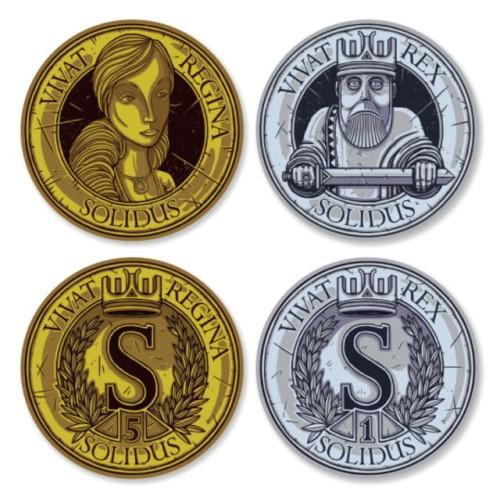 Feudum - metalowe monety (50szt)
