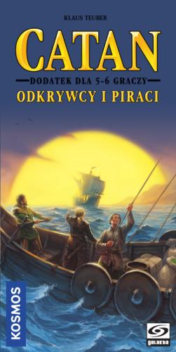 Catan: Odkrywcy i Piraci Dodatek dla 5-6 graczy
