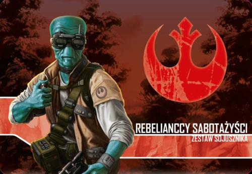 Star Wars: Imperium Atakuje - Rebelianccy sabotażyści zestaw sojusznika