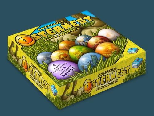 Osternest 2016 (Wielkanocny koszyk 2016)