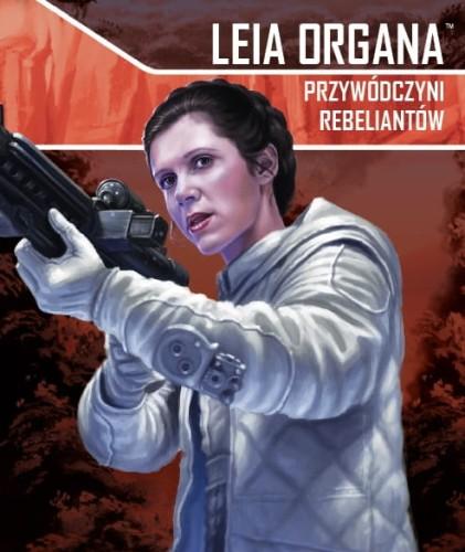 Star Wars: Imperium Atakuje - Leia Organa, Przywódczyni rebeliantów zestaw sojusznika
