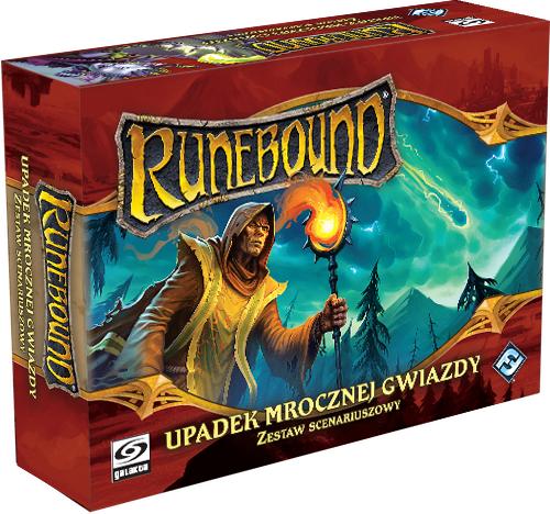 Runebound (trzecia edycja) - Zestaw Scenariuszowy - Upadek Mrocznej Gwiazdy