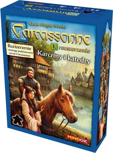 Carcassonne: Karczmy i Katedry (druga edycja)